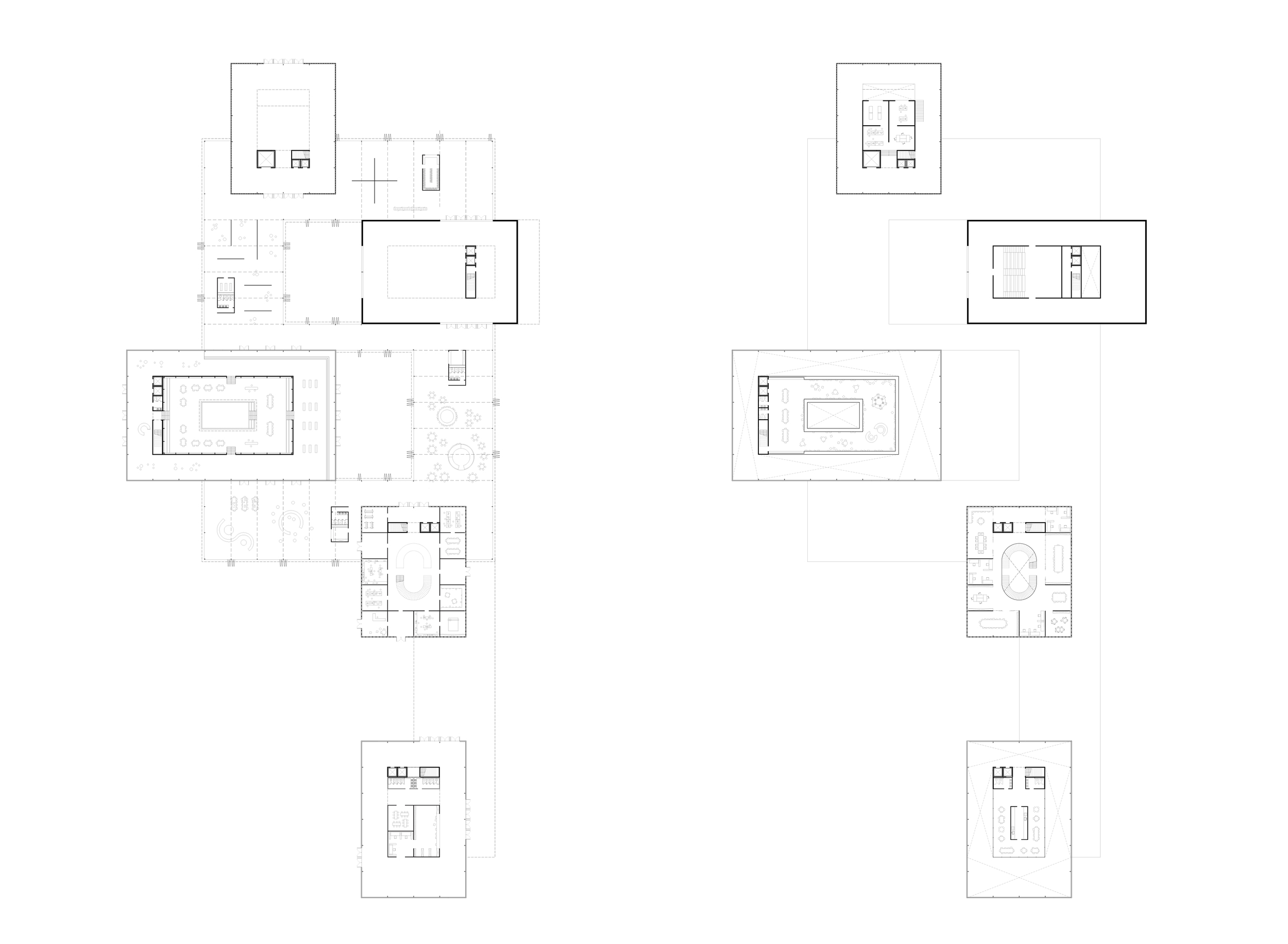 Ground floor and first floor plans