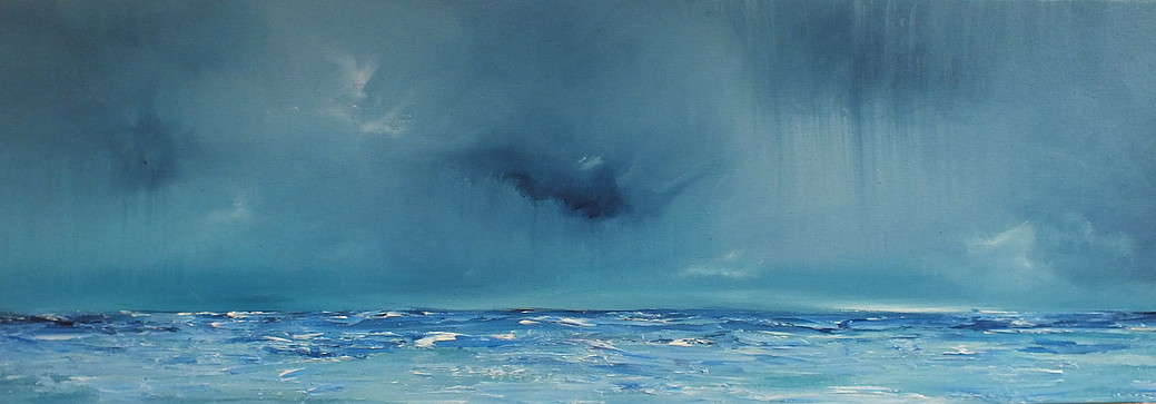 """Mary Derrick, """"When the Skies Weep"""""""