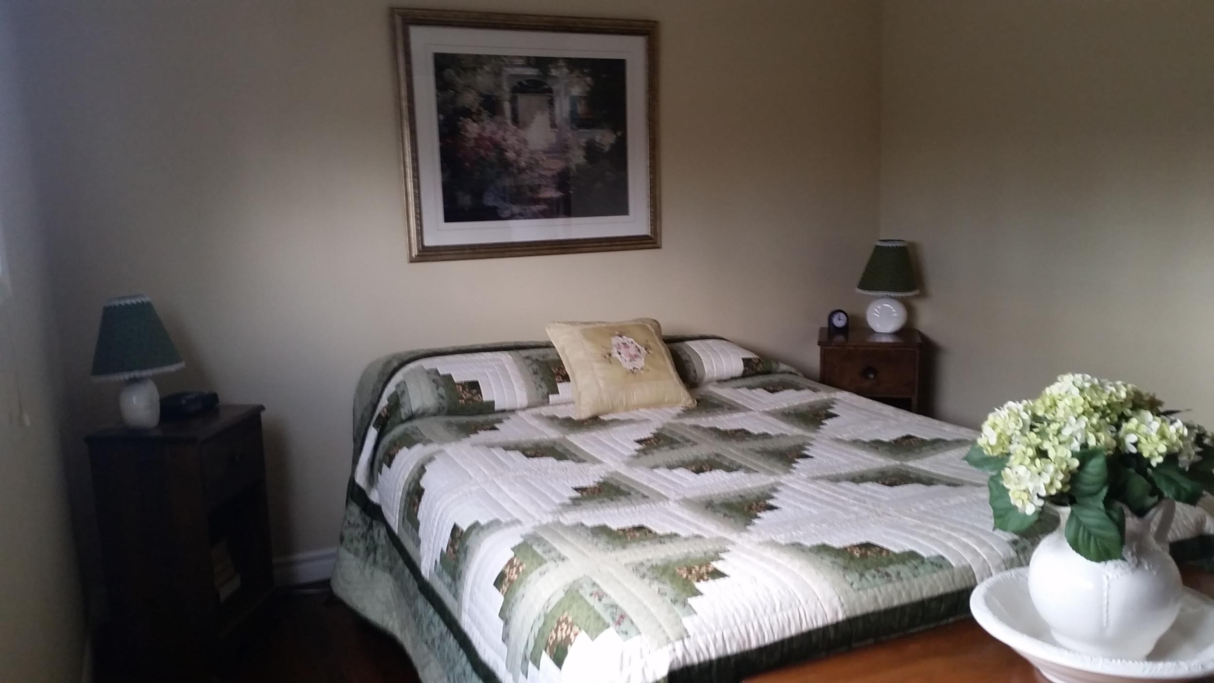 Master bedroom pattern