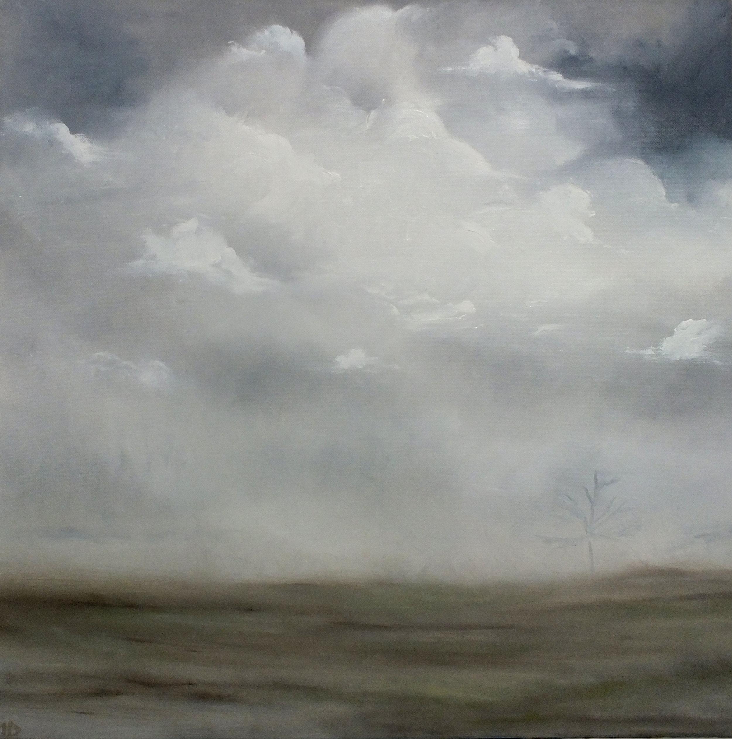Shrouded, oil on canvas, 24x24, 2017.JPG
