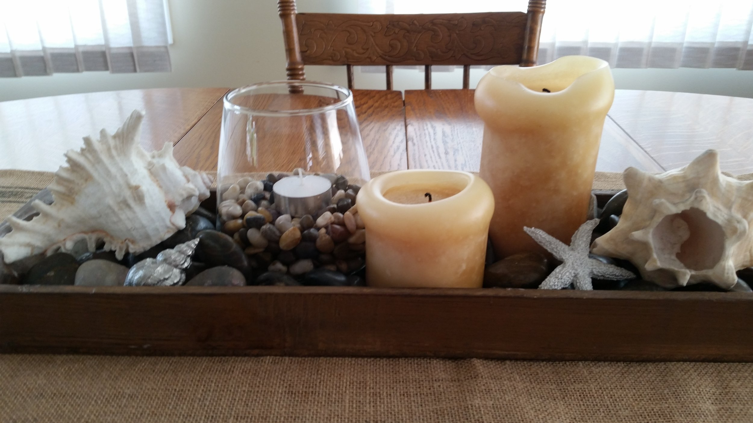 Seshell and Candle Centrepiece.jpg