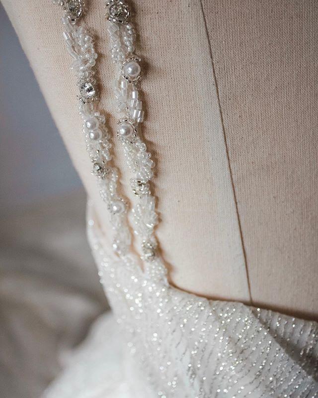 Made-to-measure | Детали свадебного платья, выполненного на заказ #custommade