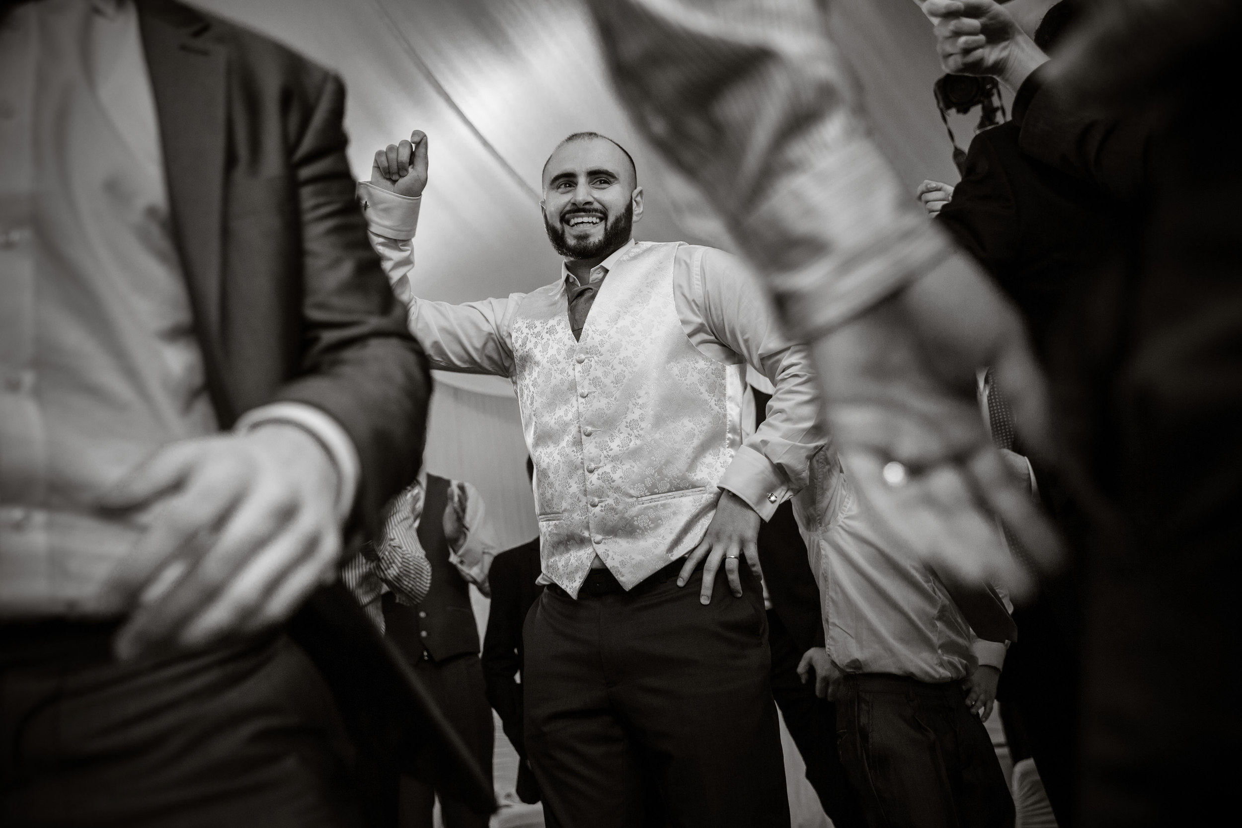arab groom dancing