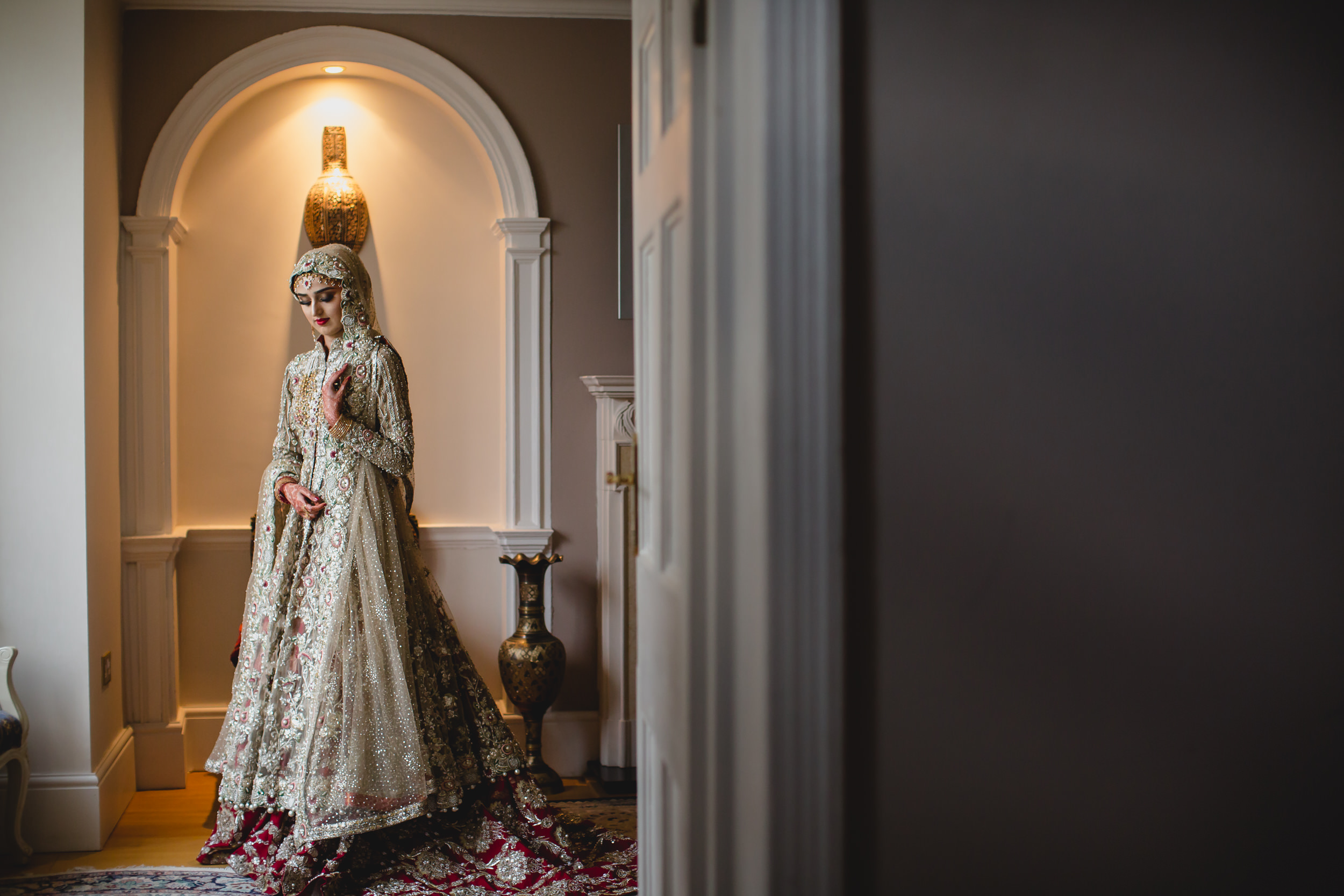 coventry pakistani wedding portrait
