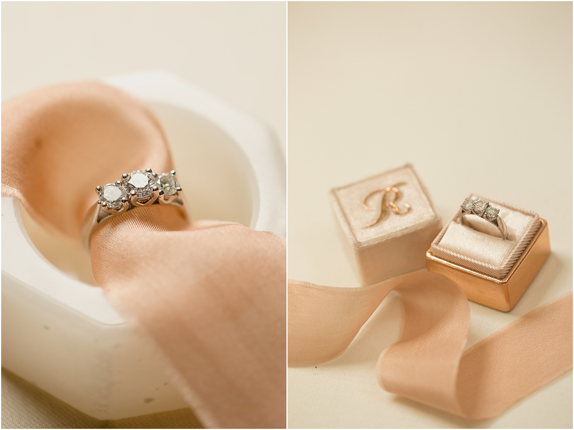 engagement ring styling devonshire dome