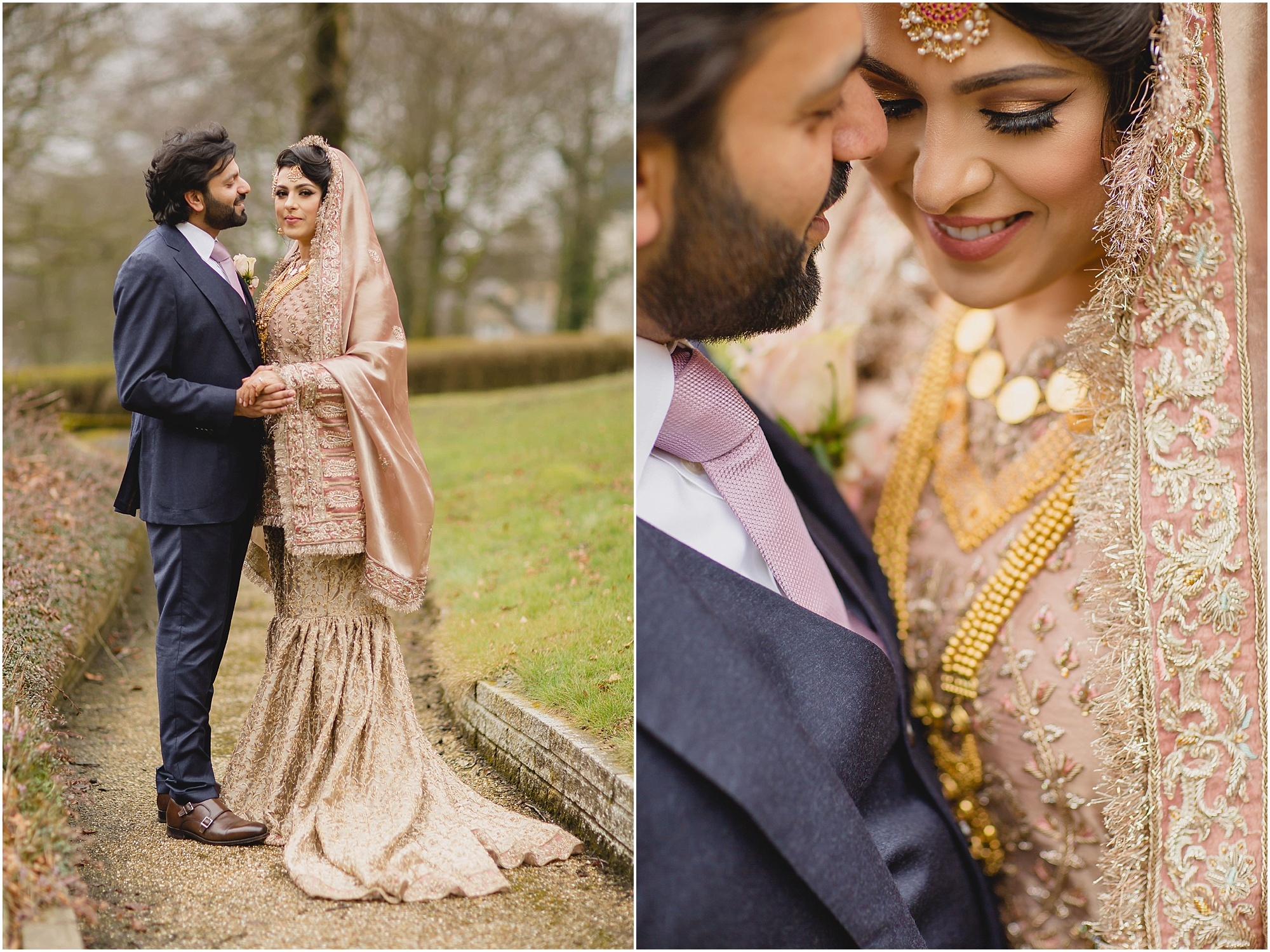 Devonshire Dome pakistani couple wedding portraits