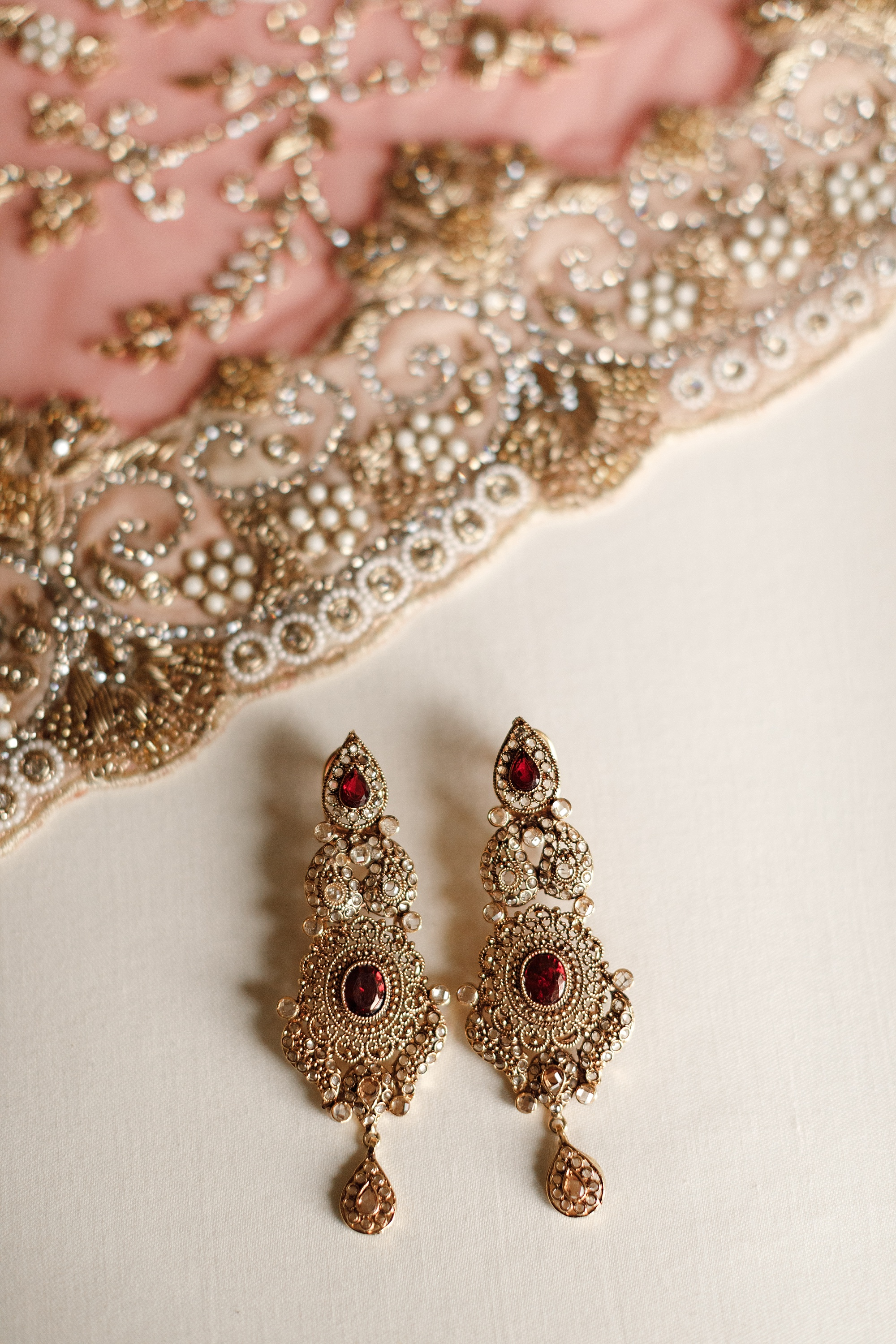 Pakistani wedding jewellery photography at Devonshire Dome