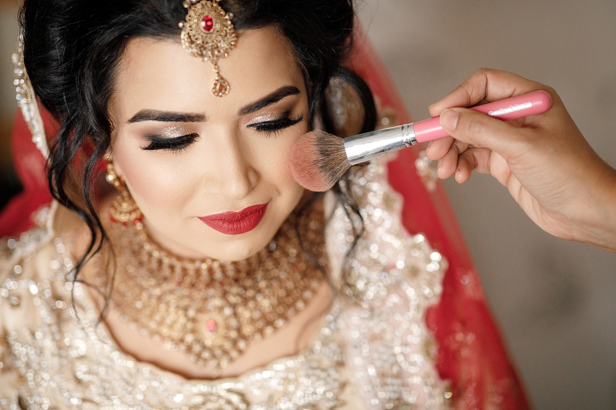 Pakistani Bride Wedding portraits photography at Devonshire Dome