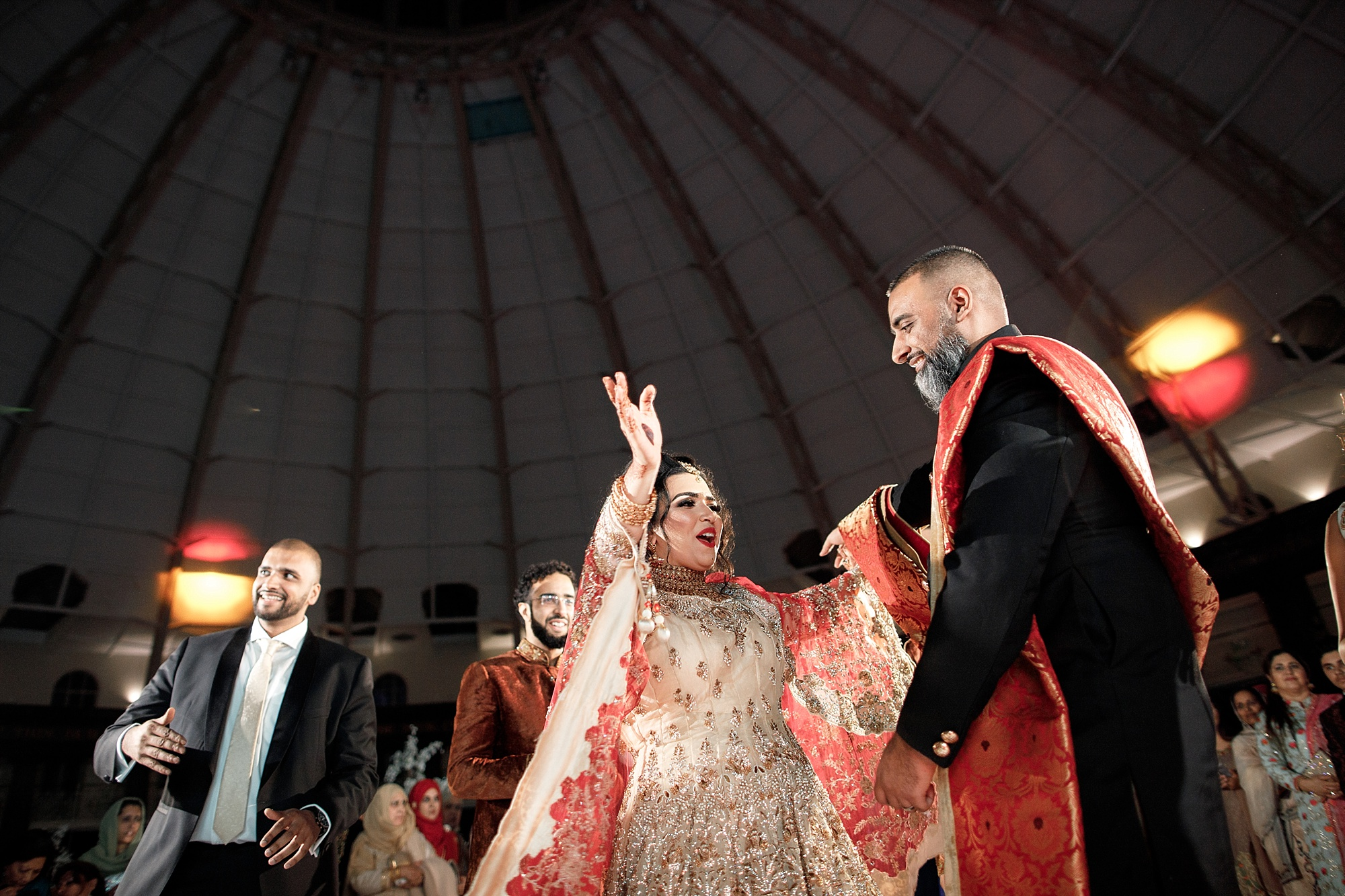 Pakistani Wedding Dancefloor at Devonshire Dome
