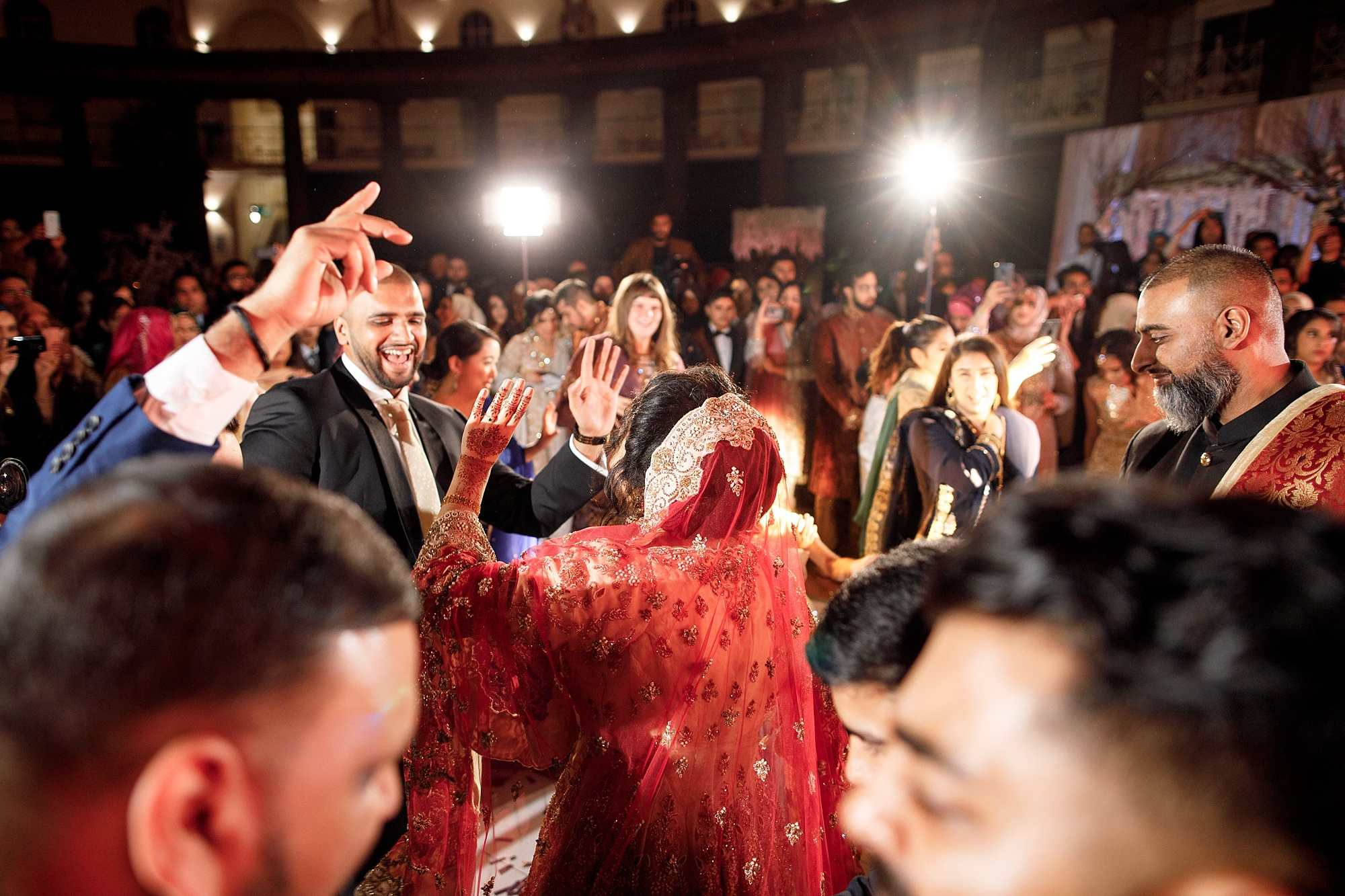 Pakistani Wedding Dancing at Devonshire Dome