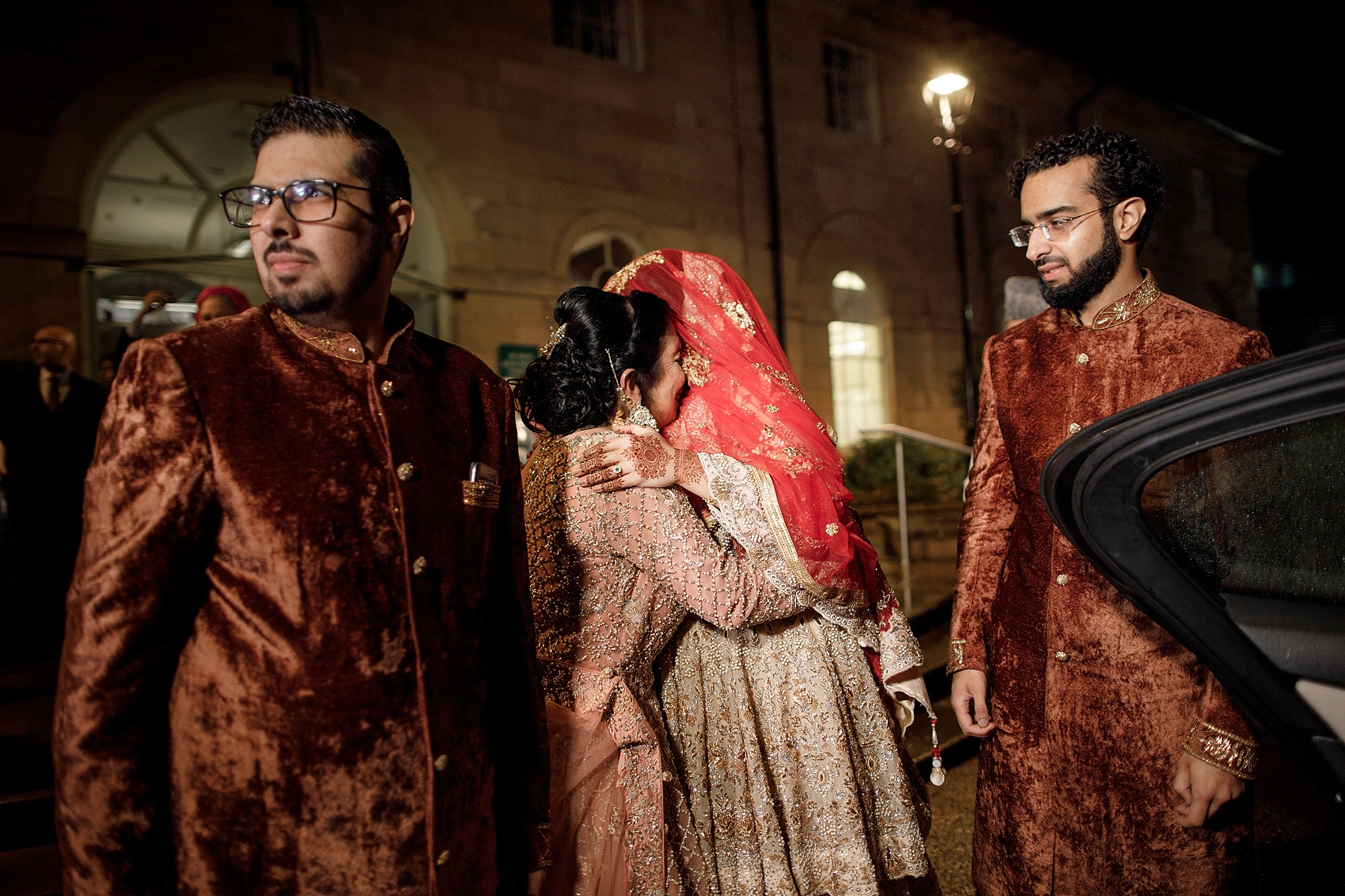 Pakistani Wedding rukhsati photography at Devonshire Dome