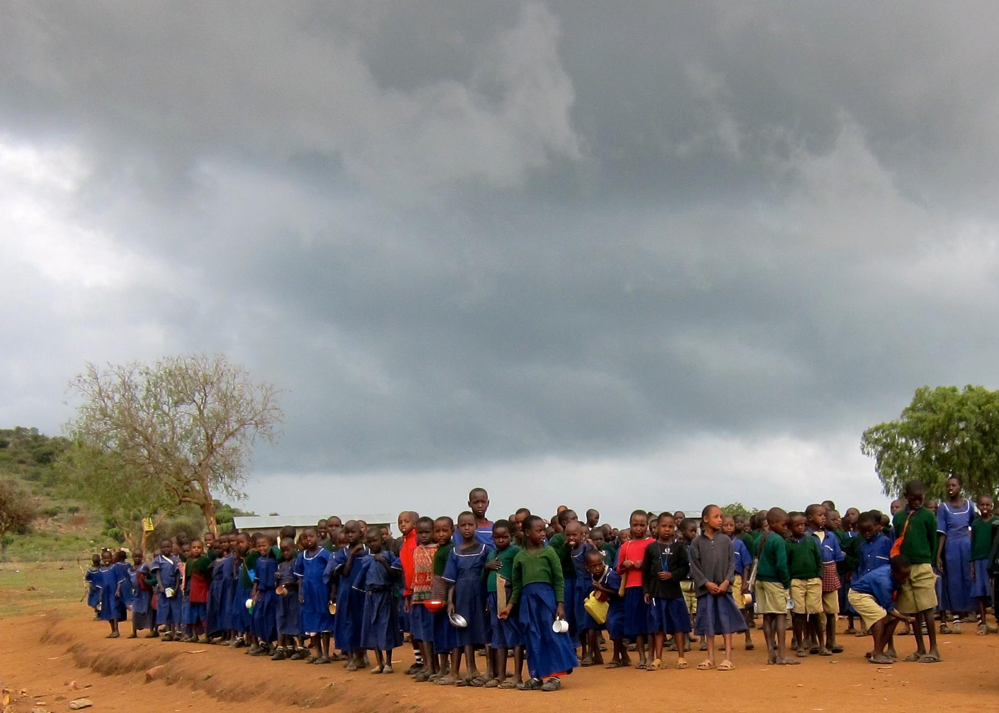 Students at Oloipiri