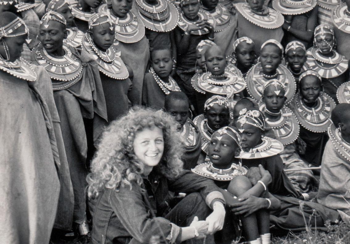 Judi Wineland in Tanzania circa 1980