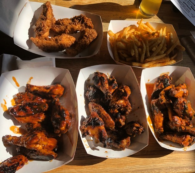 Look at tray full of wings!!! Come get some today @4nosesbrewing from 2-9, beer will be flowing and wings will be grillin! #kingofwings #food #foodporn #foodie #instafood #foodphotography #yummy #delicious #instagood #foodstagram #friday #chicken #foodgasm #like #follow #dinner #tasty #eat #drink #beer #photooftheday #restaurant #foodies #chef #picoftheday #yum #nom #nomnom