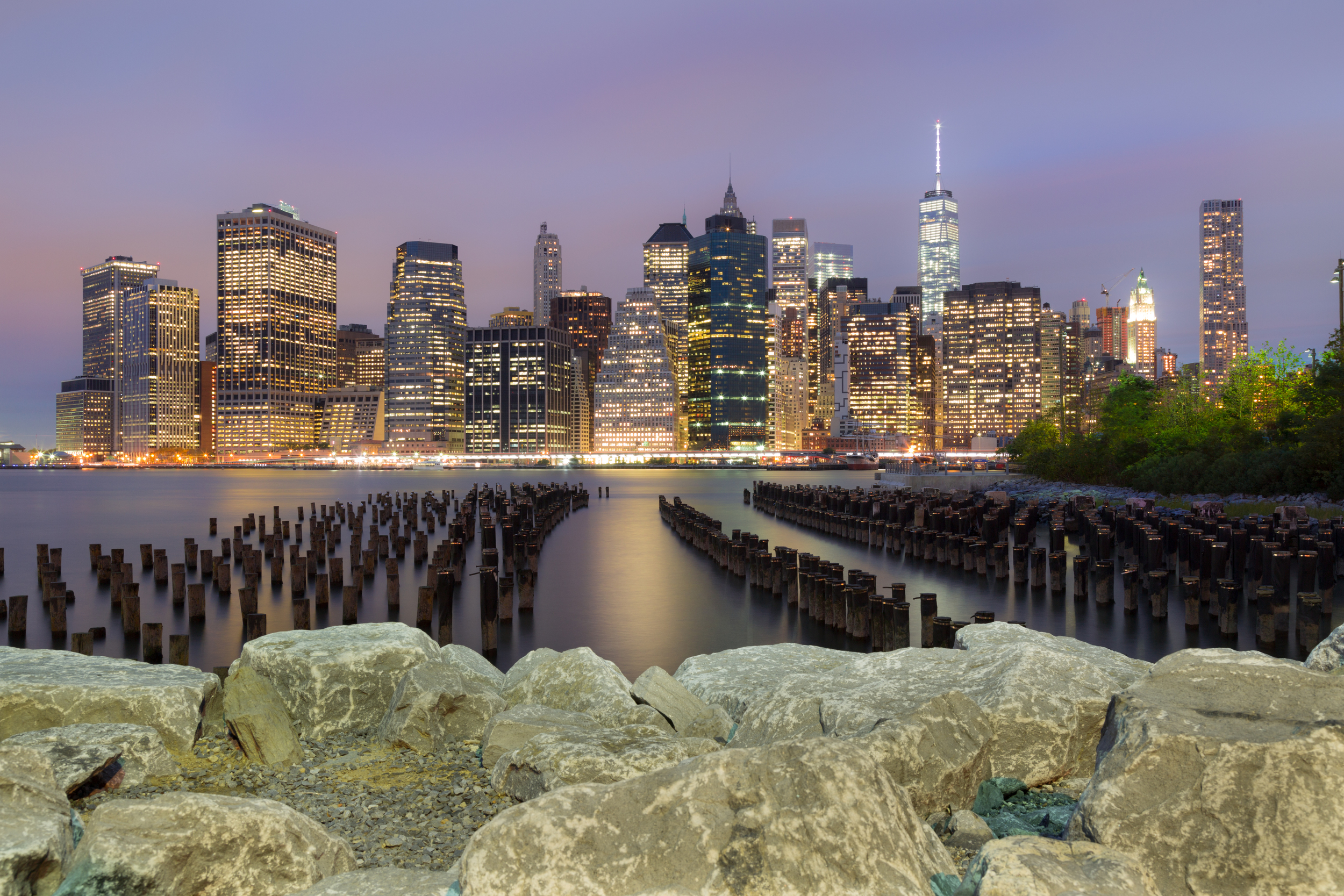 On the East River