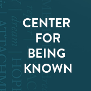 The Center for Being Known in Virginia is a new organization that seeks to help people explore the integral relationship between deep, meaningful connections with God and others–being known–and the development of healthier minds, healthier communities and ultimately, a healthier world. We're excited to help founder  Curt Thompson  address so directly the isolation that is hurting today's world, through strategy, tech infrastructure, and full communications management.