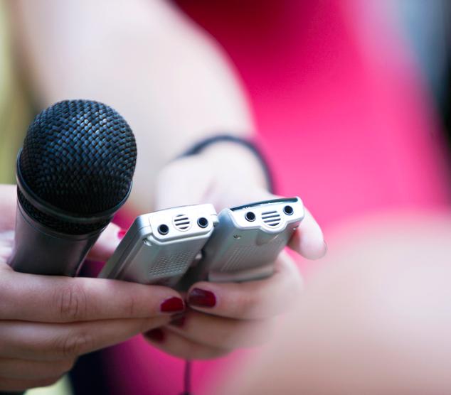 Being Heard: Media Training Masterclass   This Media Training Masterclass was open to the Fellows & Friends Network.