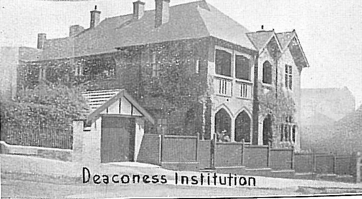 Deaconess House, in Newtown, is now known as Mary Andrews House