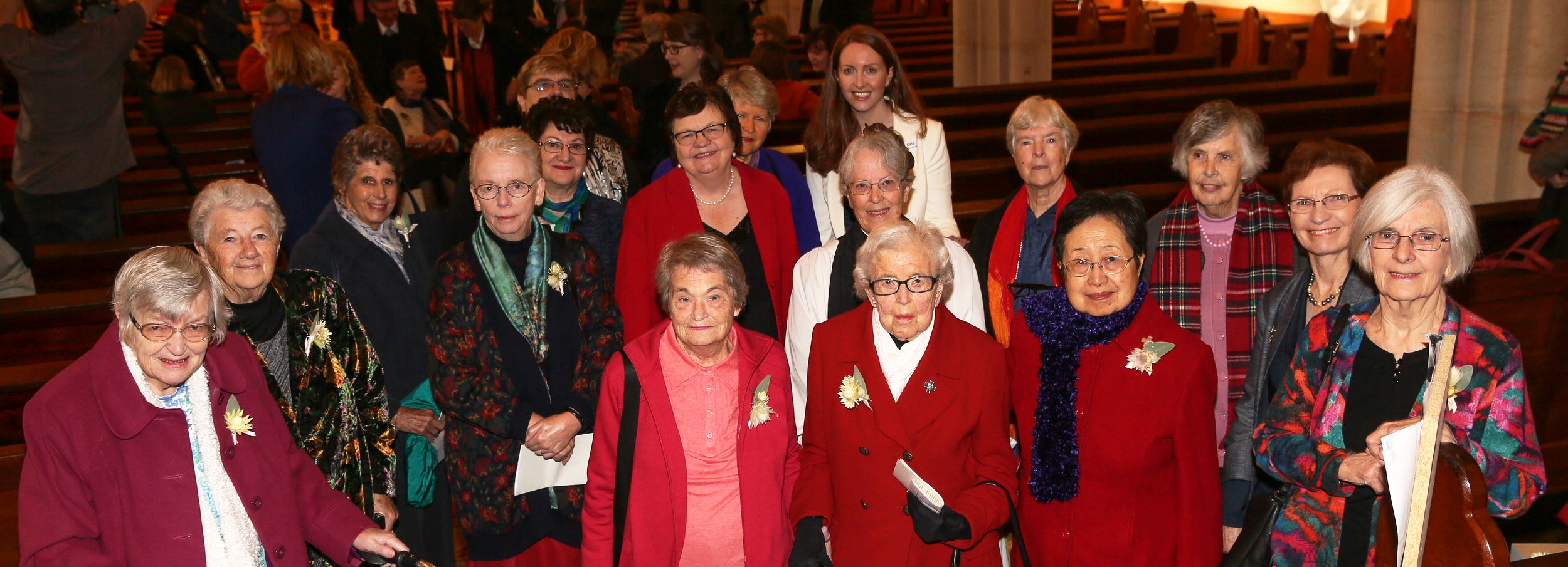 CEO Kate Harrison Brennan and some of our deaconesses at the 125th celebration of ADM in 2016.
