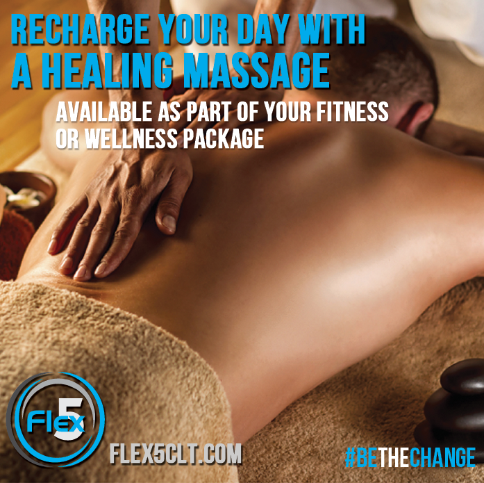 Available as part of your fitness or wellness package, massage therapy is an amazing way to recover from life and exercise!