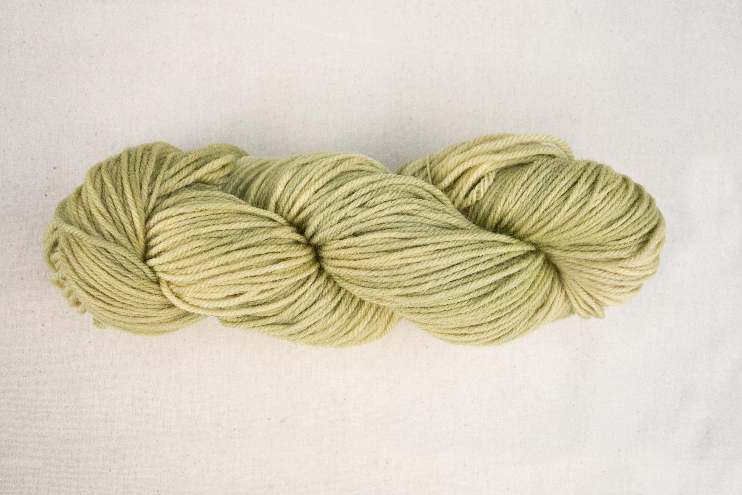 Dyed_9October_Sea Fan Yellow_Knit Picks Swish_1.jpg