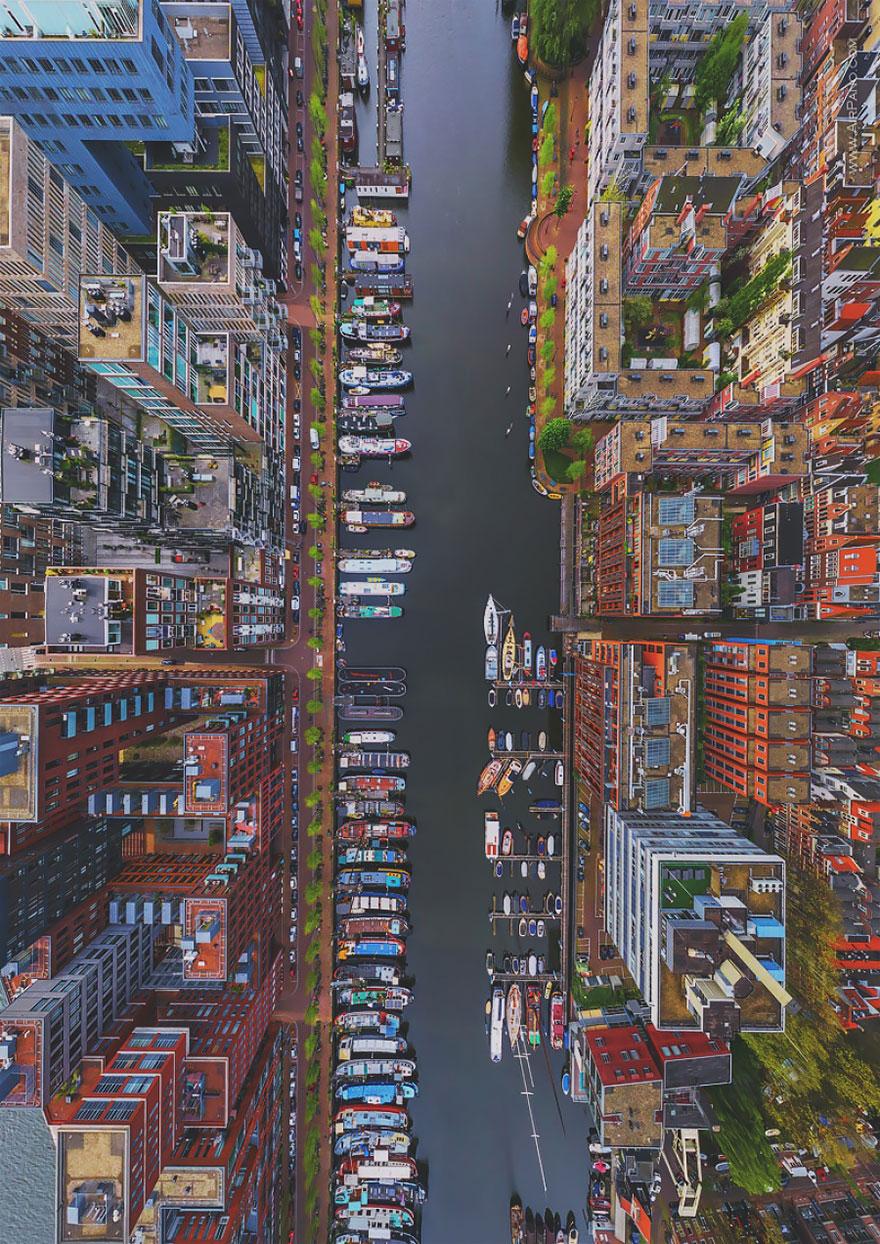 Amsterdam Bird's-Eye Shot