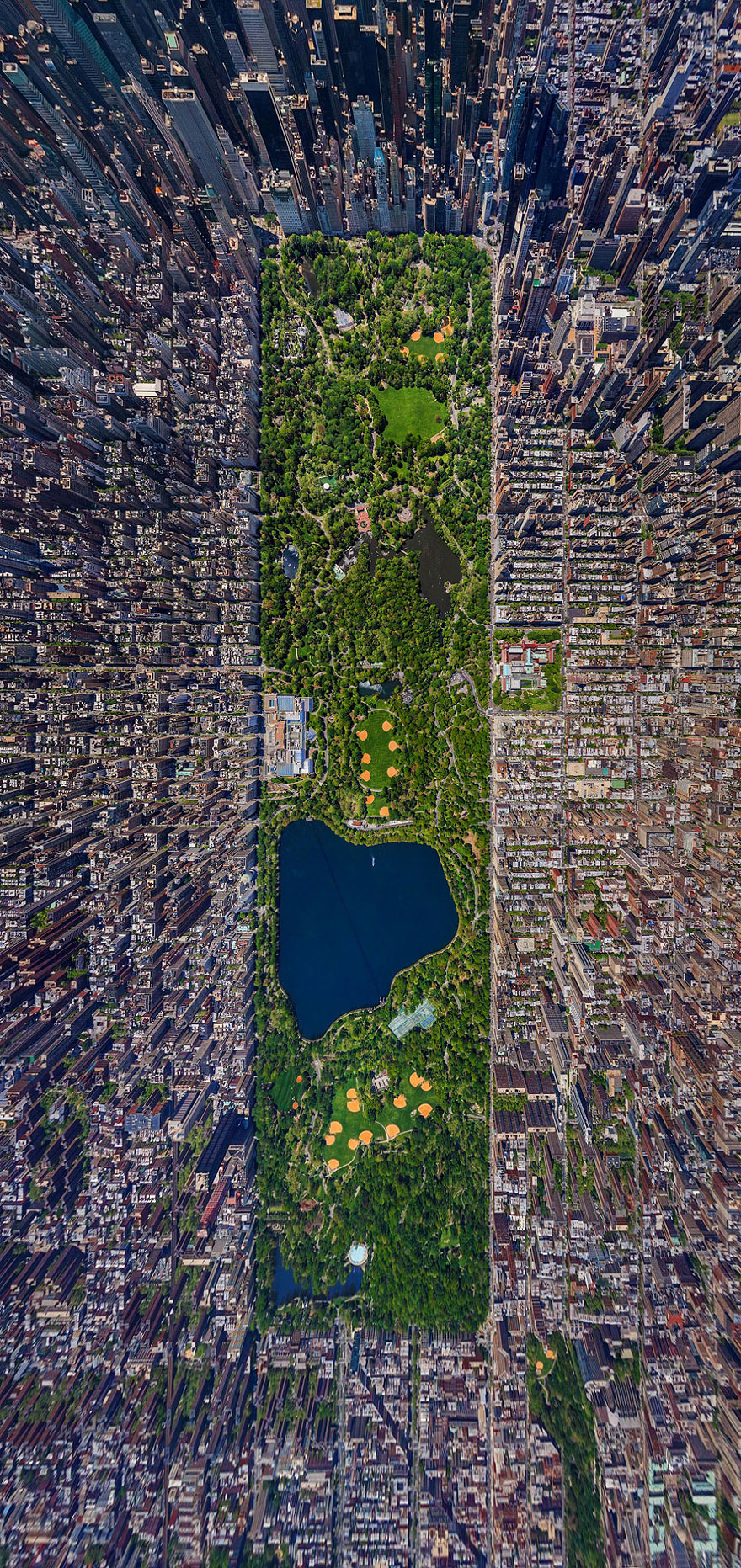 New York Bird's-Eye Shot