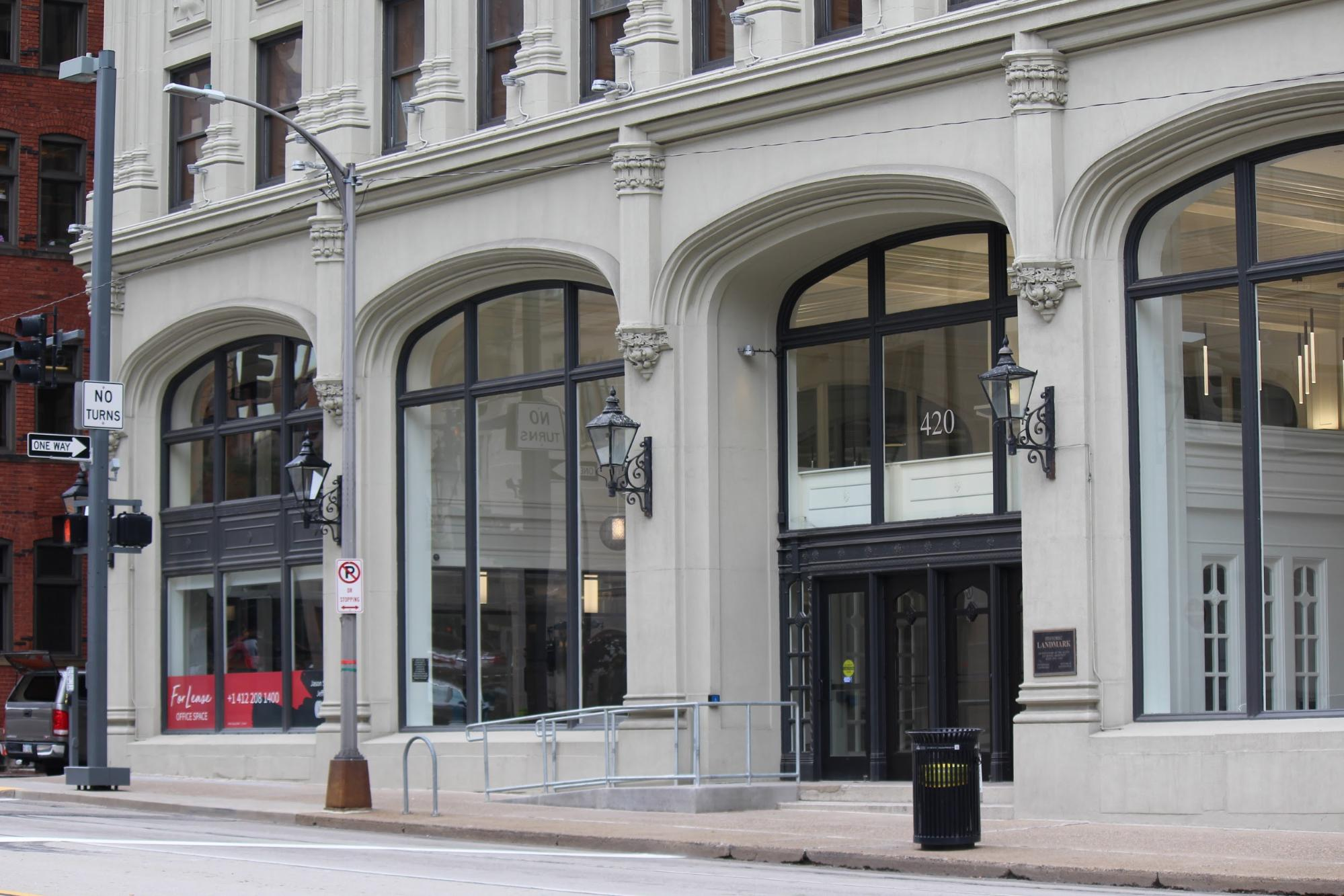 Urban Redevelopment Authority building at 412 Boulevard of the Allies – Photo courtesy of the Urban Redevelopment Authority of Pittsburgh
