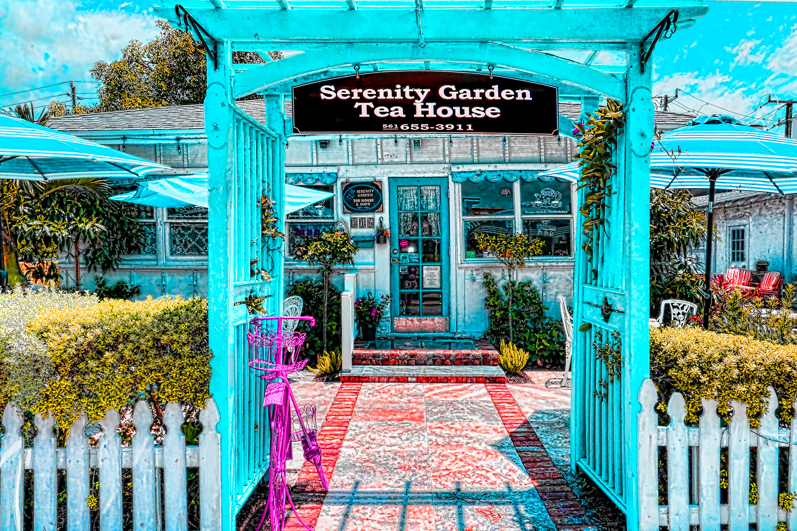 We look forward to seeing you at Serenity. - Birthdays , Lunch or come try or buy our delicious Tea'sReservation in LESS then 24 hours / 5 Guest or morePlease call 561-655-3911