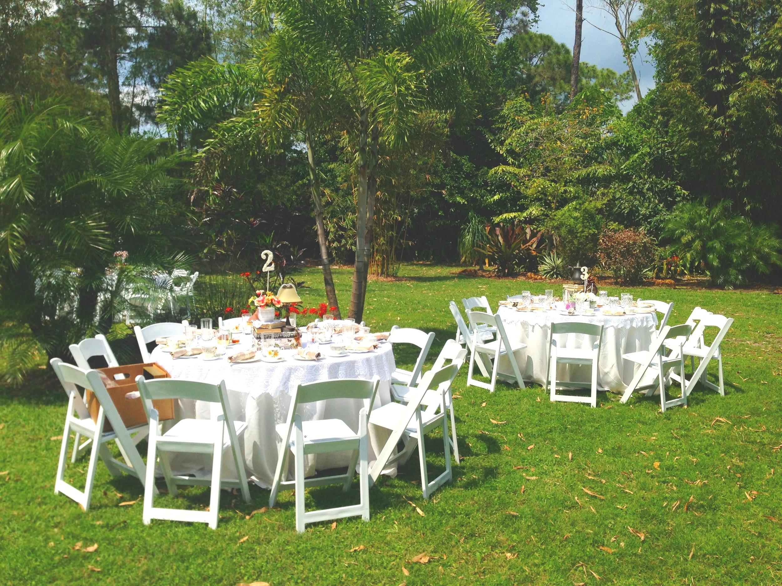 Garden Tea Party Wedding
