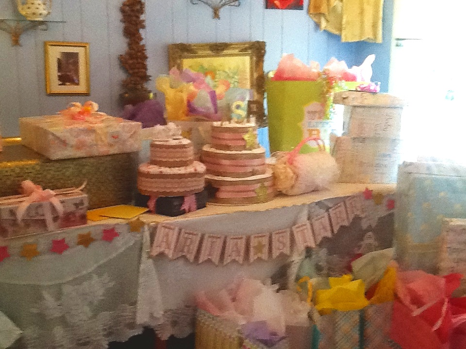 Gift Room for Baby Shower