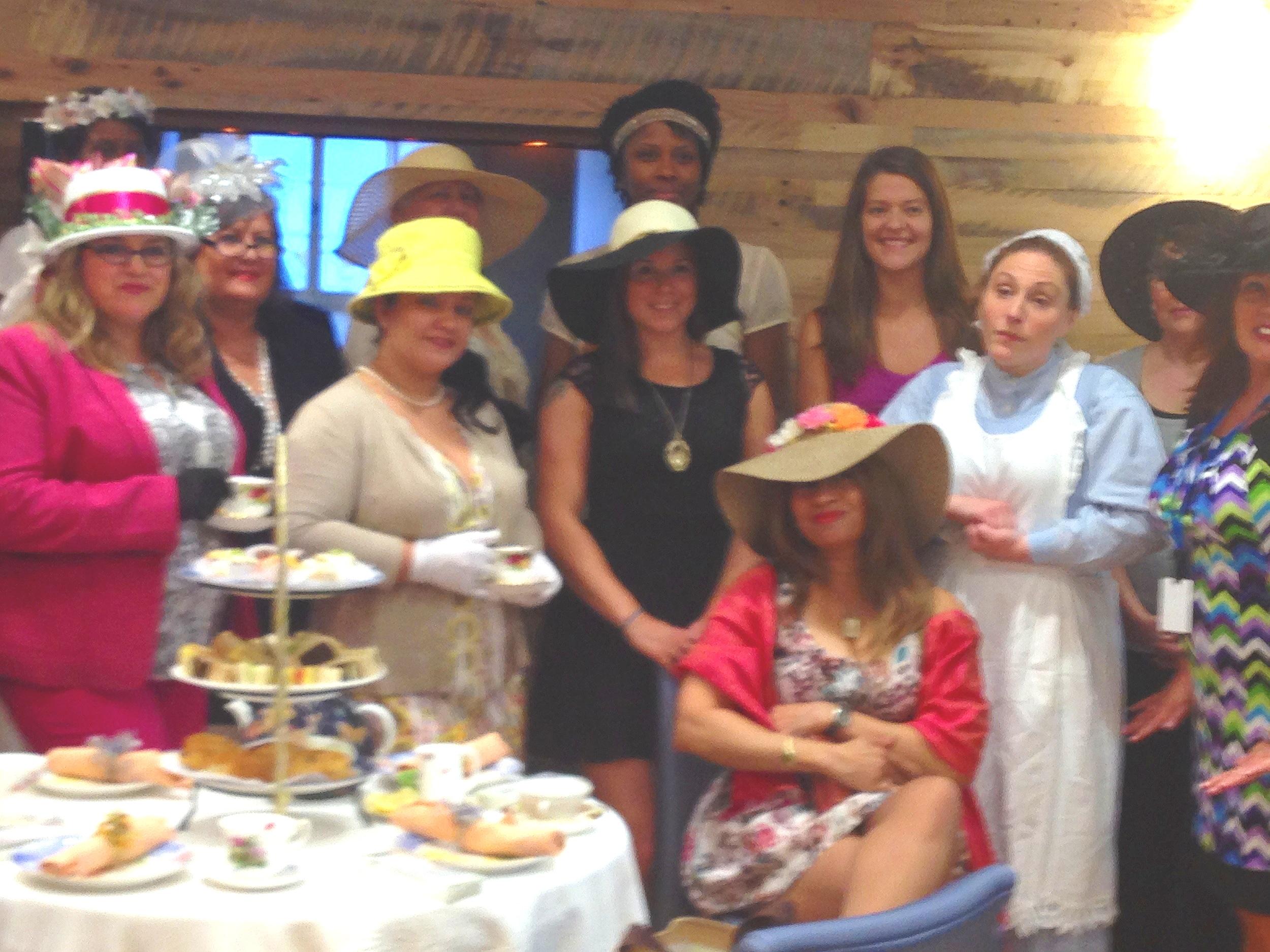 Off premise Downton Abbey Tea event