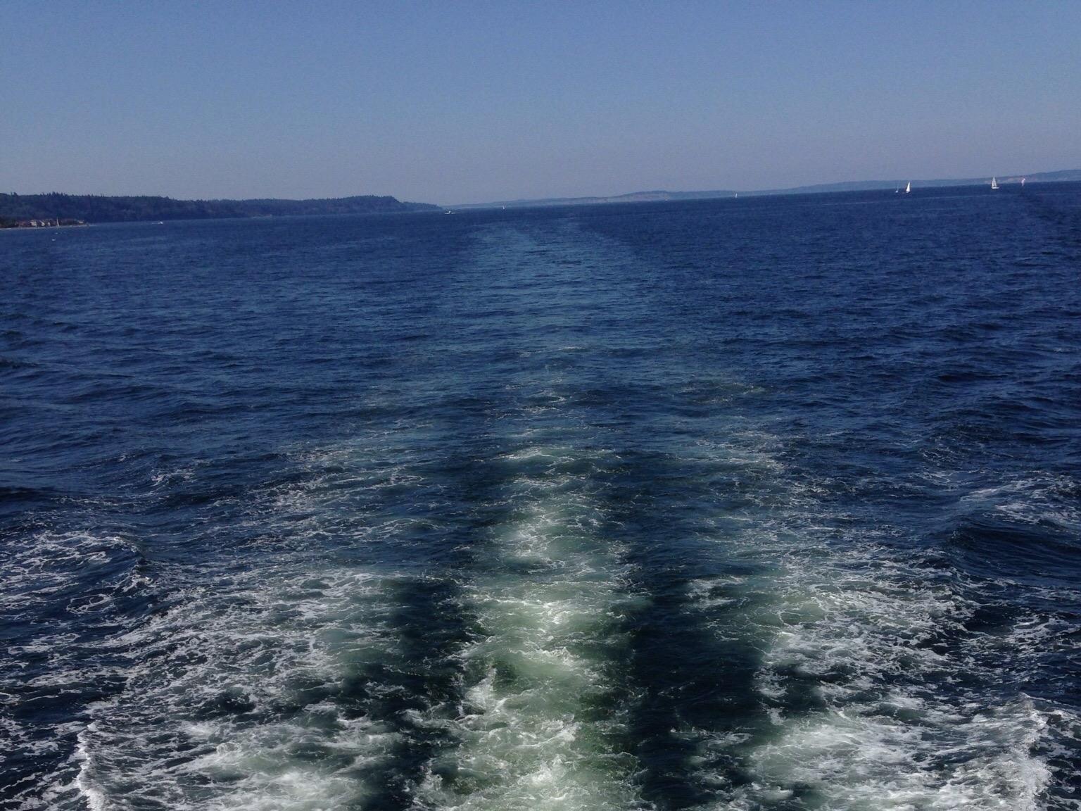 Underway on Puget Sound
