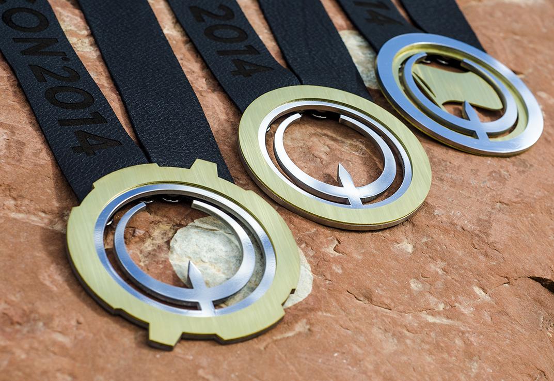 Quakecon 2014 Medals