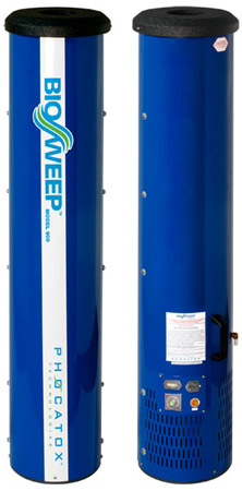 This a BioSweep 900. These are deployed in an enclosed space to remove all types of odors. BioSweep of Austin is the only company in Austin that has this technology. For more information  click here.