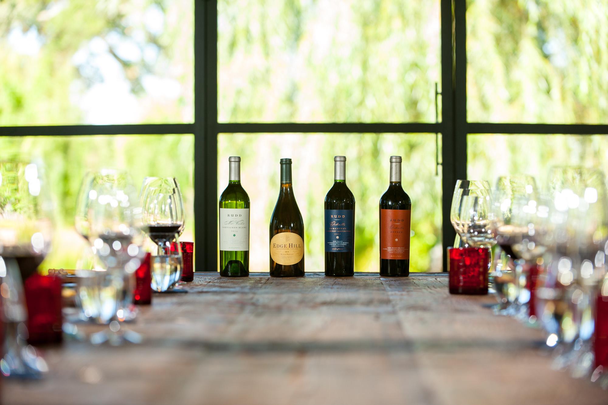 Private Tasting | Rudd Winery, Oakville, California