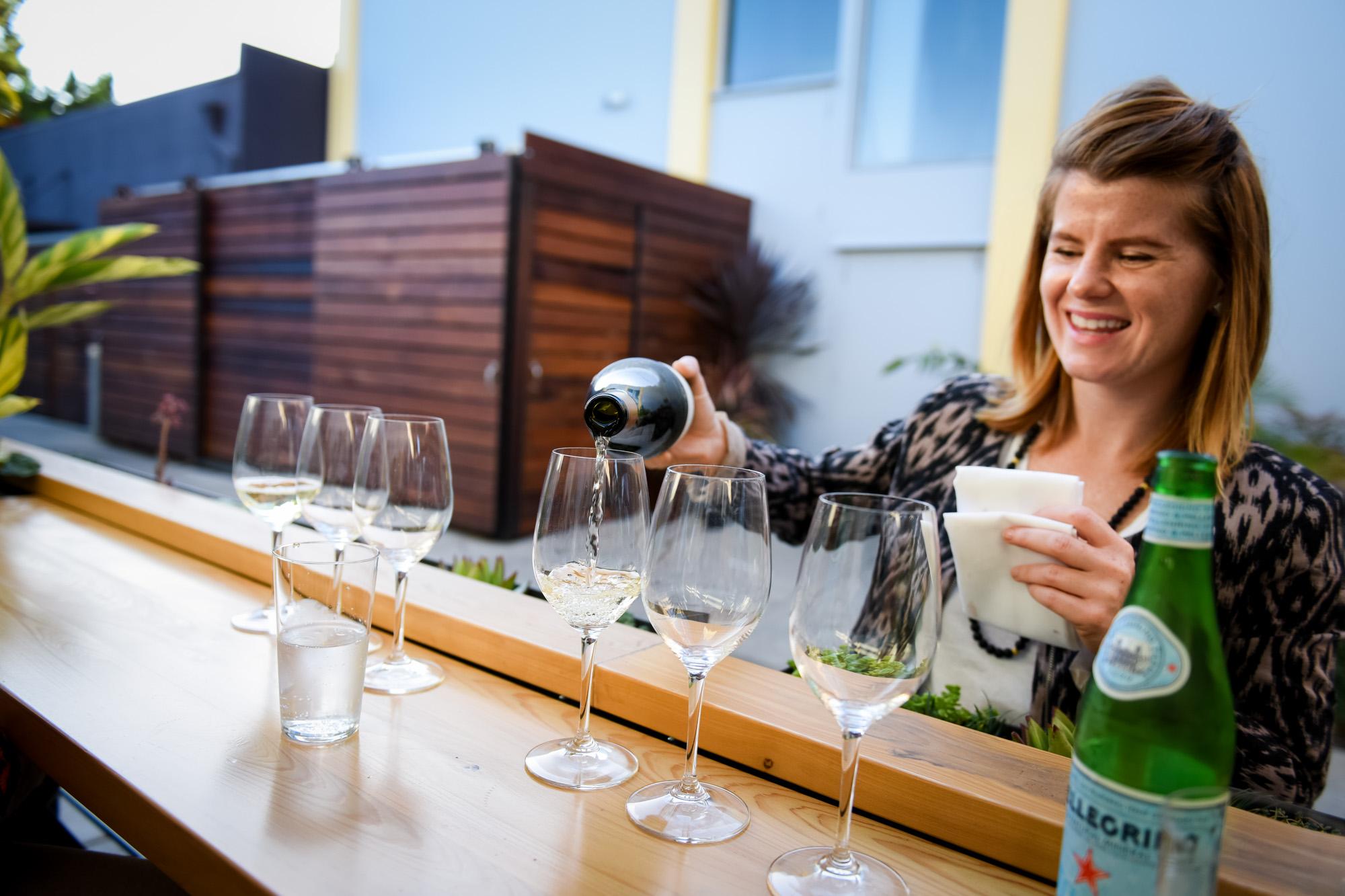 Llamas Family Wine Tasting | Cadet Beer + Wine Bar, Napa, California