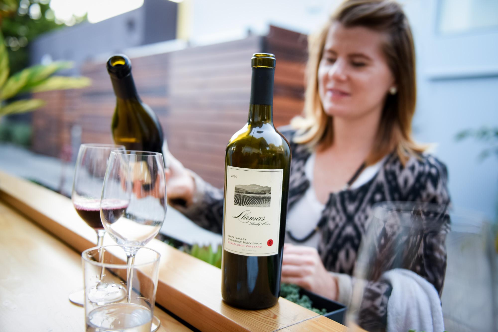 Llamas Wine Tasting | Cadet Beer + Wine Bar, Napa, California