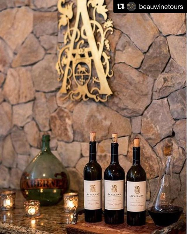 #Repost @beauwinetours with @get_repost ・・・ Taste fine Cabernet Sauvignon at @AckermanFamilyVineyards in the Coombsville AVA of the Napa Valley. . Image credit @infinity8visuals . #Napa #NapaValley #VisitNapaValley #WineCountry #WineTasting #TasteWine #AckermanVineyard #AckermanFamilyVineyard #CoombsvilleAVA . Click the link in our bio to book your Napa Valley wine tasting experience with us.