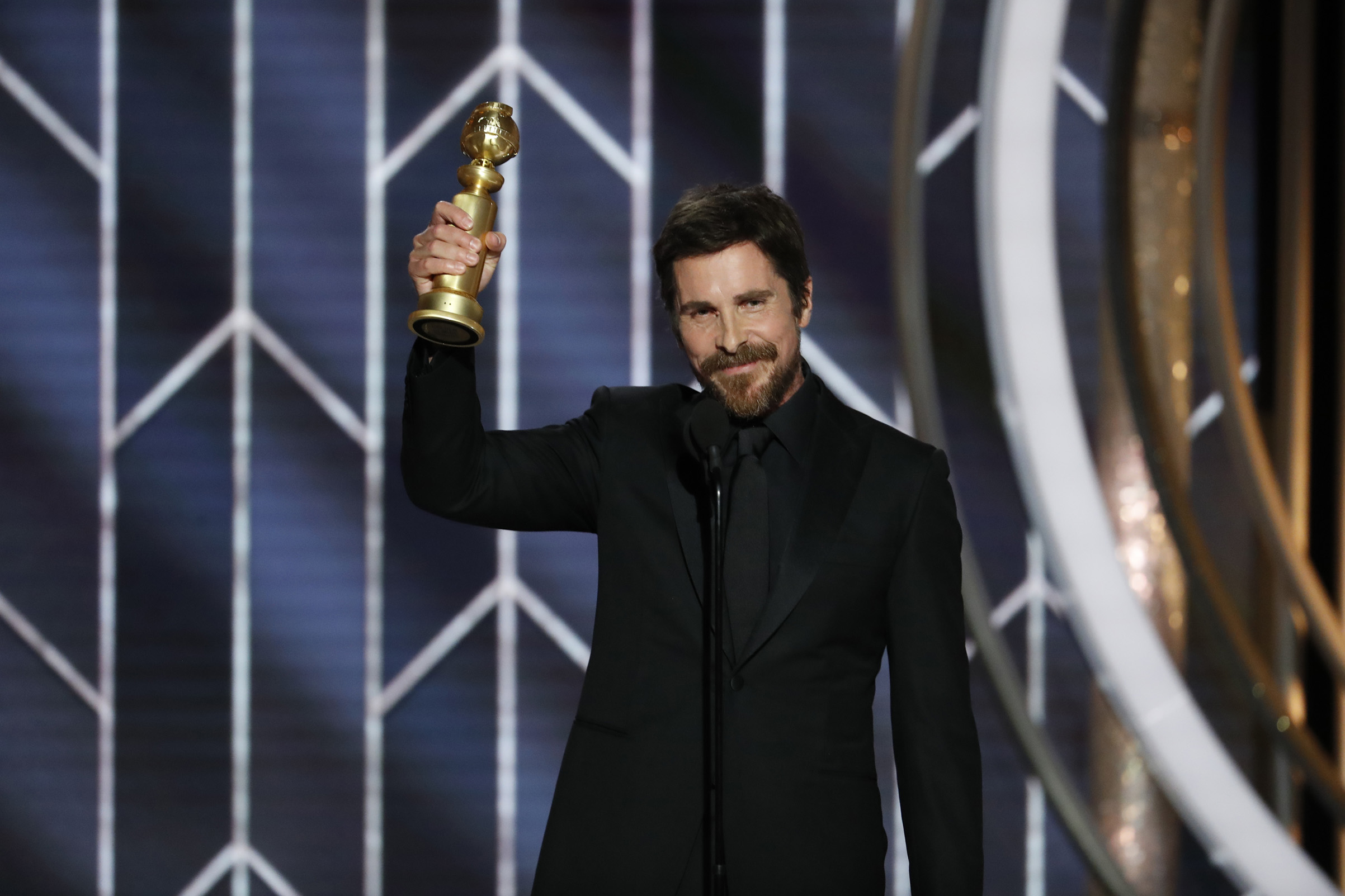 Vice - Christian Bale thanked Satan in his acceptance speech.