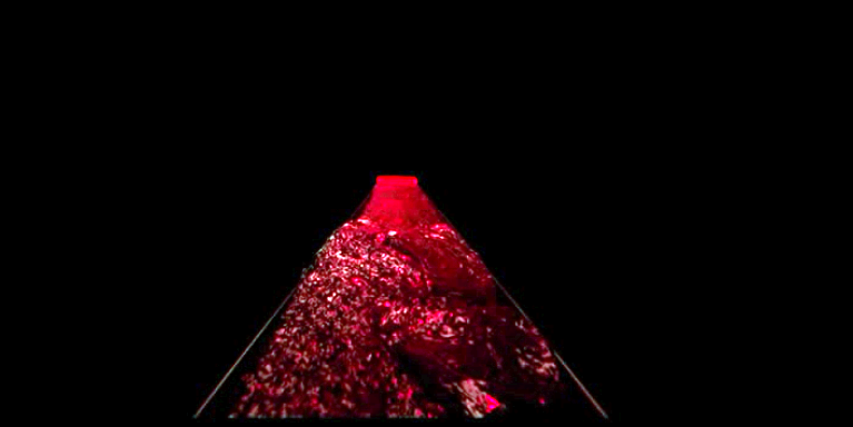 One of the more unforgettable shots in  Under the Skin