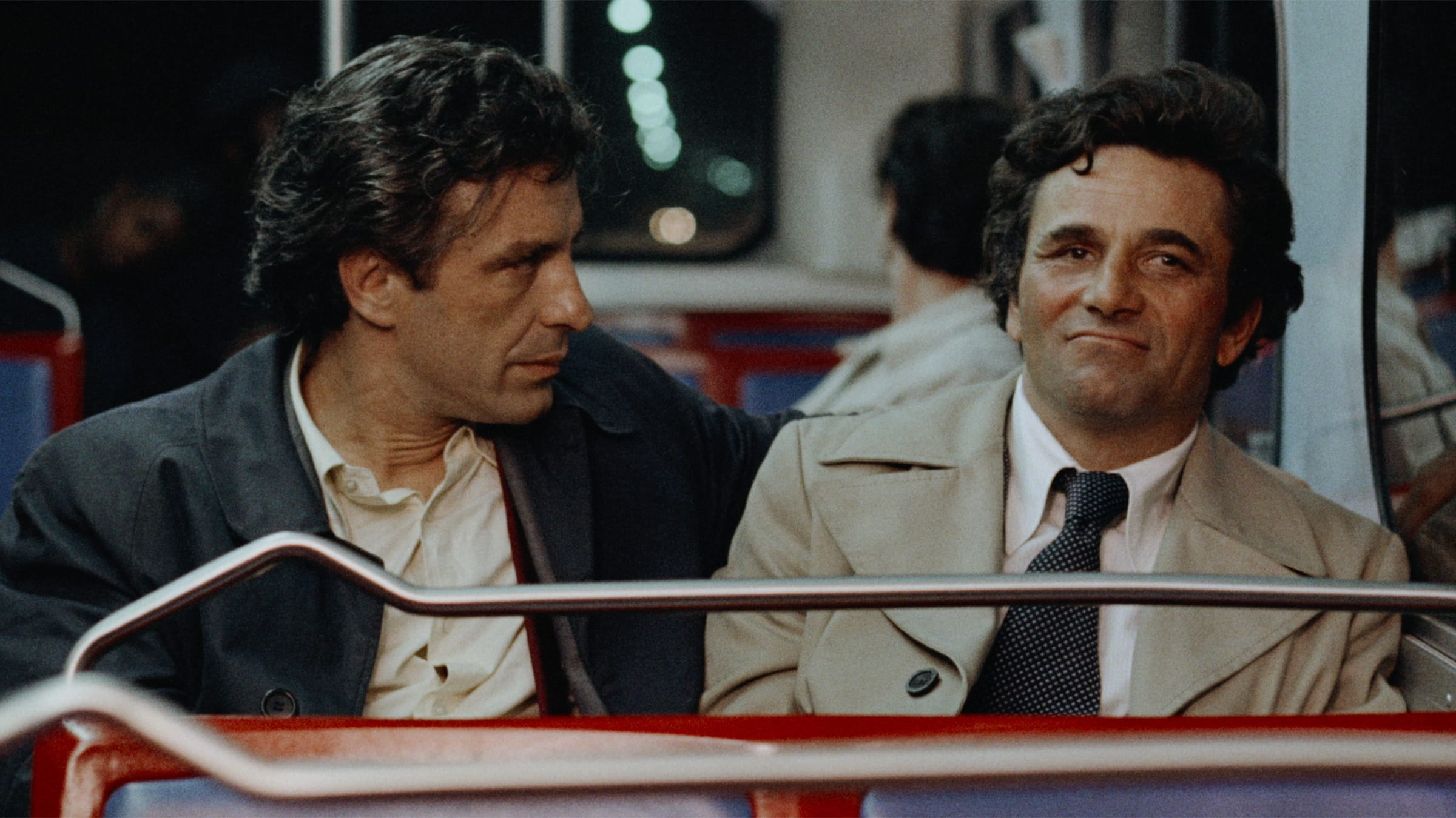 John Cassavetes (left) and Peter Falk (right) in  Mikey and Nicky