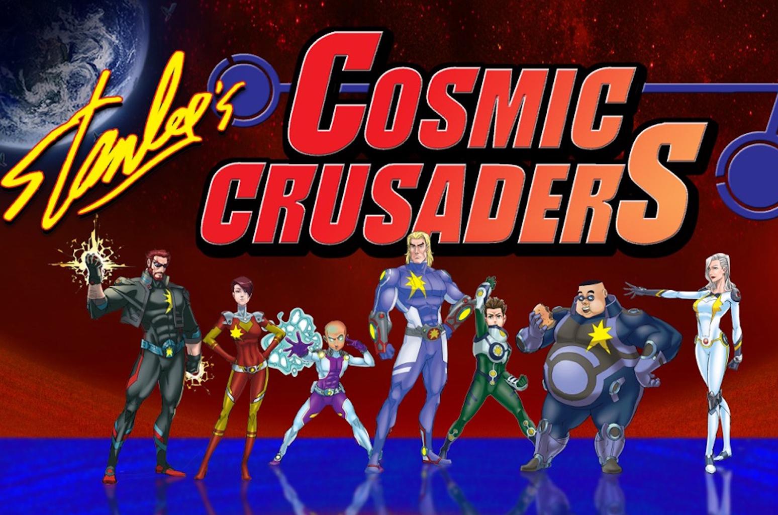 Stan Lee's Cosmic Crusaders - 2016    POW! Entertainment/Genius Brands