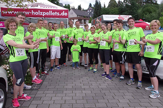 Firmenlauf in Bad Marienberg 2014