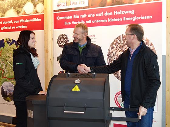 Foto v.l.n.r. Jenny Stöcker, Jörg Fries, Markus Mann