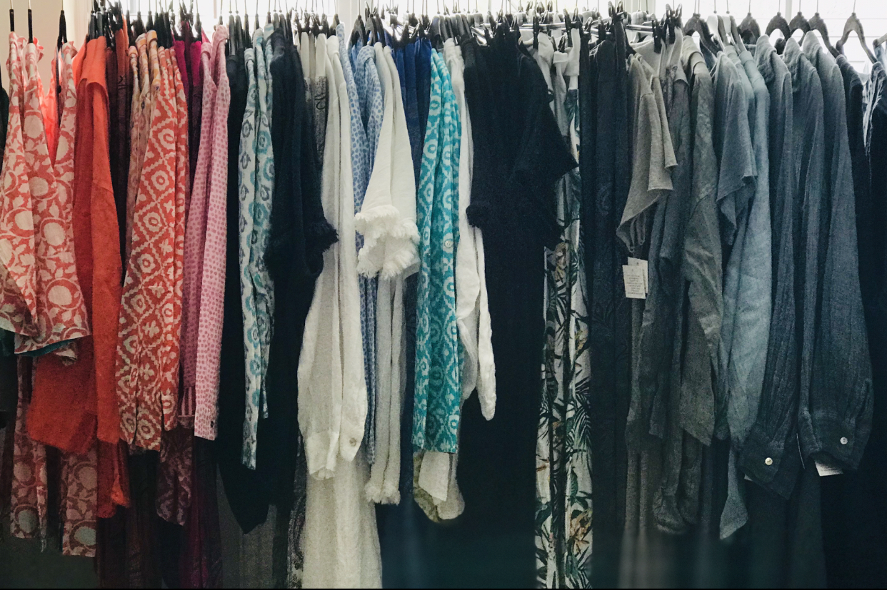 The rails will be full of gorgeous clothes to take you from Spring to high summer with some careful layering and planning!