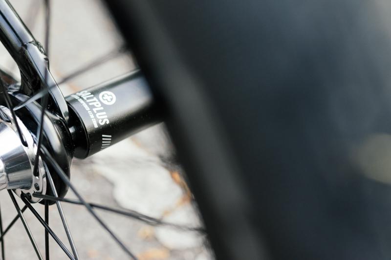 Hubs: WTP Supreme Prototype Rims: Eclat Trippin XL Prototype Tires: Schwalbe Prototype Pegs: Saltplus PRO