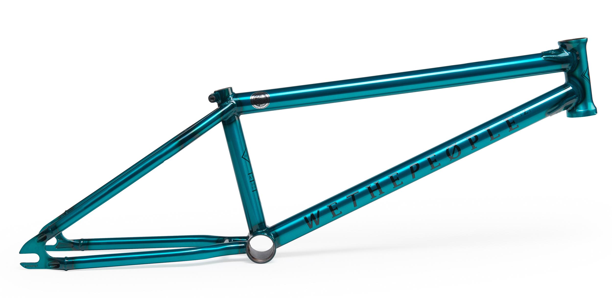 Black//Blue 2014 Frame Trust WeThePeople BMX Decal Set