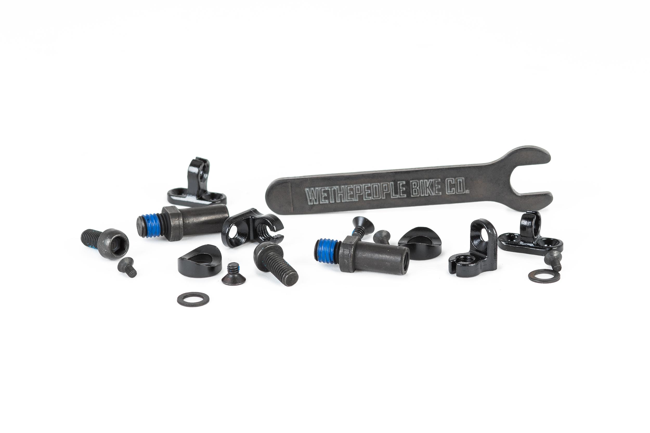 Hardware WeThePeople BMX Brake Mount Kit Universal P3-2019