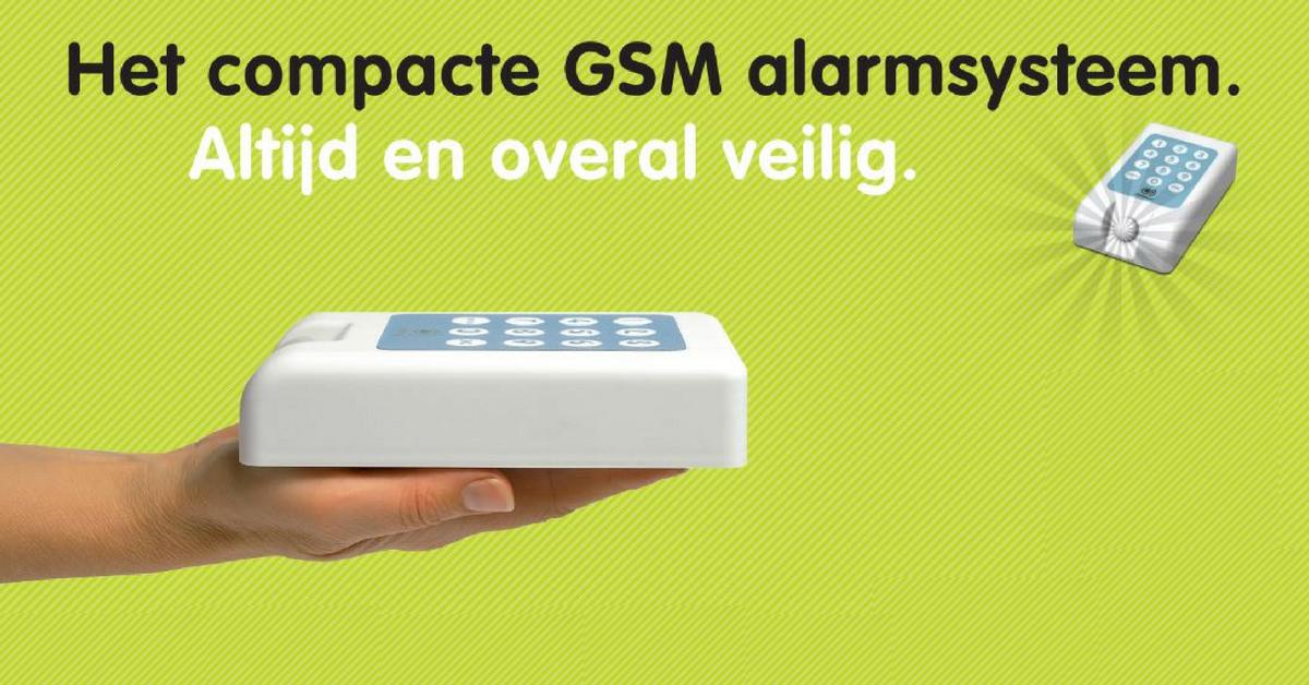Mobeye draadloos alarmsysteem